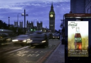 jcdecaux digital london bus shelters 330x230
